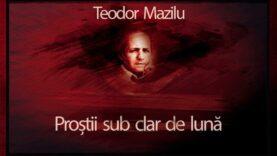 Prostii sub clar de luna teautru audio Teodor Mazilu piesa radiofonica