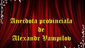 Anecdota provinciala teatru radiofonic latimp.eu