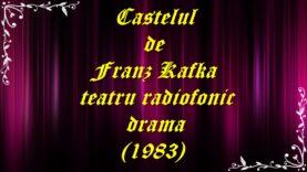 Castelul de Franz Kafka teatru radiofonic drama (1983) teatru.latimp.eu