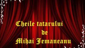 Cheile tatarului de Mihai Jemaneanu