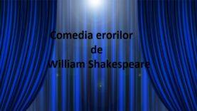 Comedia erorilor de William Shakespeare cu Radu Beligan, Marcel Anghelescu