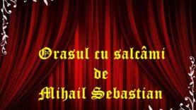 Orasul cu salcâmi de Mihail Sebastian