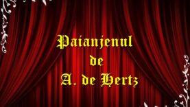 Paianjenul de A. de Hertz teatru radiofonic latimp.eu