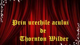 Prin urechile acului de Thornton Wilder