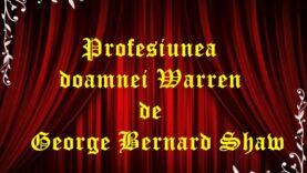 Profesiunea doamnei Warren de George Bernard Shaw