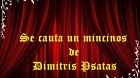 Se caută un mincinos de Dimitris Psatas