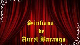 Siciliana de Aurel Baranga