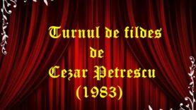 Turnul de fildes de Cezar Petrescu (1983)
