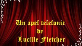 Un apel telefonic de Lucille Fletcher