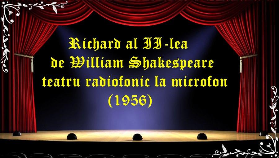 Richard al III-lea de W. Shakespeare