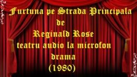 Furtună pe Strada Principală de Reginald Rose teatru audio la microfon drama (1980)