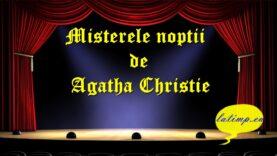 Misterele noptii de Agatha Christie teatru latimp.eu3