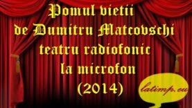 Pomul vietii de Dumitru Matcovschi teatru radiofonic la microfon(2014) teatru latimp.eu2