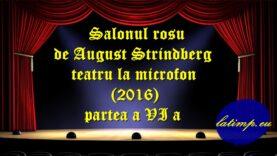 Salonul rosu de August Strindberg teatru la microfon (2016) partea a VI a teatru latimp.eu3