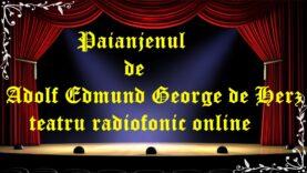 Paianjenul de Adolf Edmund George de Herz latimp.eu teatru