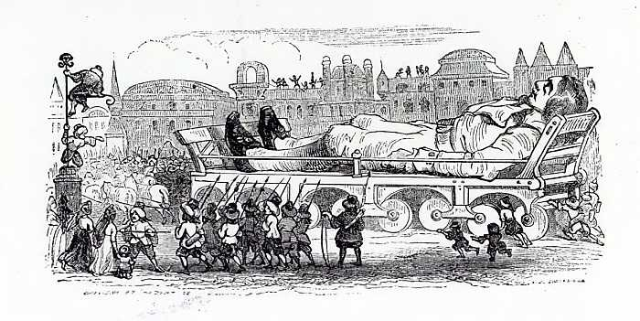 Gulliver In Tara Uriasilor de Jonathan Swift (2006)