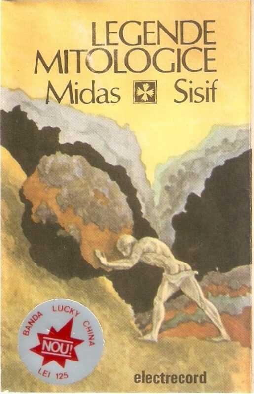 1.Lăcomia lui Midas 2.Isprăvile lui Sisif (Povești audio vinil) Legendele Olimpului