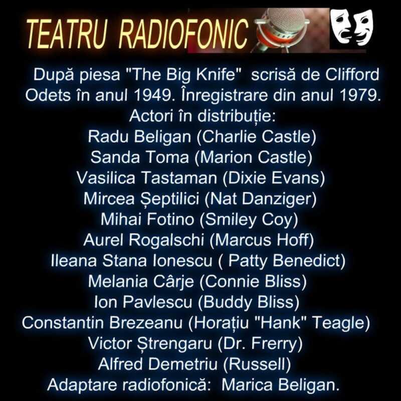 Salariul Gloriei de Clifford Odets cu Radu Beligan teatru radiofonic la microfon (1979) latimp.eu