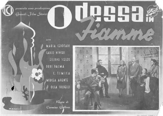 Odessa in flacari (Odessa in Fiamme) film romano-italian (1942) latimp.eu