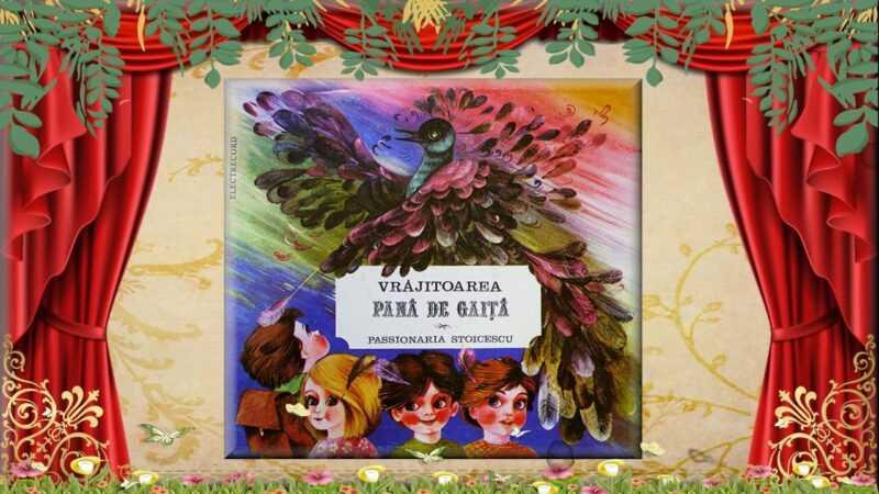Povestea vrăjitoarei Pană de gaiță povesti pentru cei mici