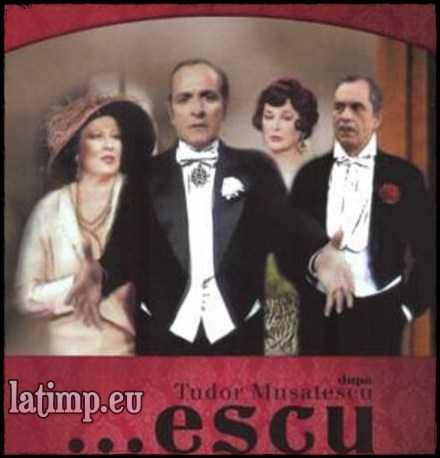 Escu-teatru Tv film comedie online Tudor Musatescu