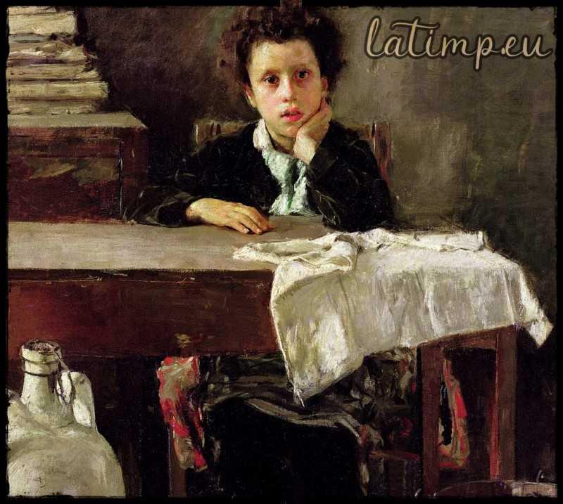 Piciul – teatru radiofonic comedie pentru copii Alphonse Daudet latimp.eu