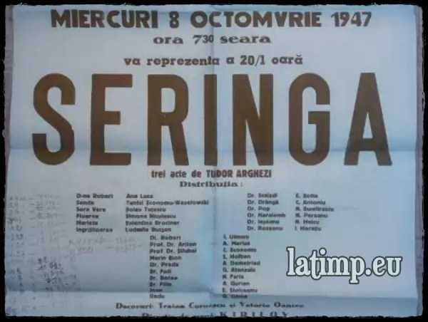 Seringa-teatru audio comedie-satirica Tudor Arghezi [800×600]