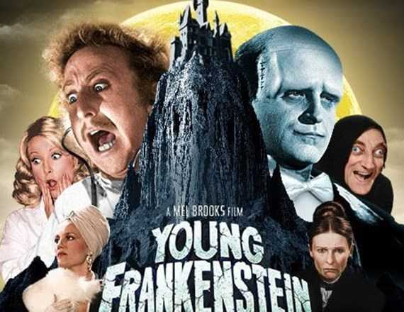 mel brooks filme comedie young frankenstein Gene Wilder