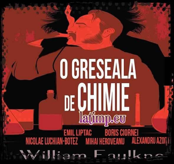 O greseala de chimie teatru radiofonic vechi politist William Faulkner
