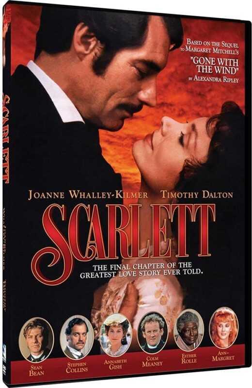 Scarlett (1994) miniserie TV continuarea filmului Pe Aripile vântului Partea I